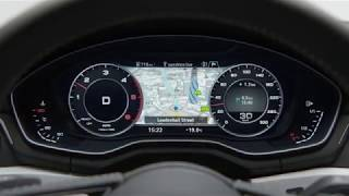 Audi A4: виртуальная приборная панель