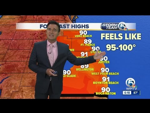 South Florida weather 6/24/17 - 6pm report