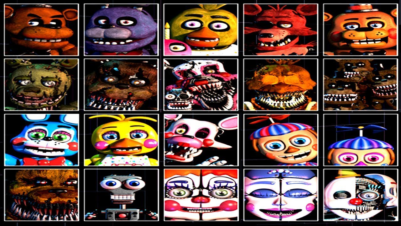 Fnaf 6 Ultimate Custom Night Fan Made Nights – Dibujos Para Colorear