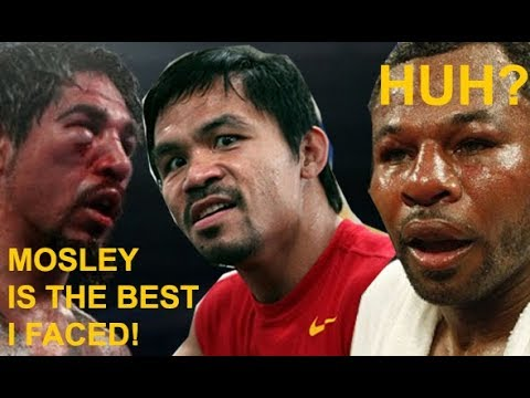 Antonio MARGARITO cannot FORGIVE Manny PACQUIAO PICKED Shane MOSLEY as HARDER Opponent!!!