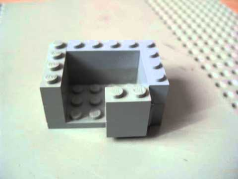 comment faire un coffre fort lego youtube. Black Bedroom Furniture Sets. Home Design Ideas