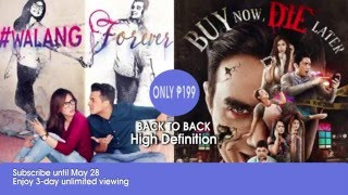 walangforever and buy now die later on sky pay per view