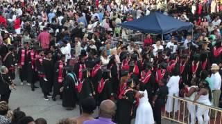 2017 Clark Atlanta University Commencement Procession