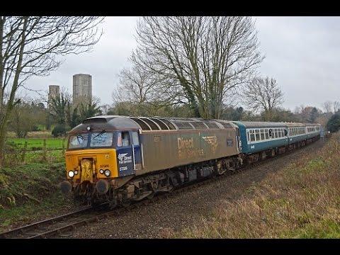 Mid-Norfolk Railway Winter Diesel Gala 02/01/2016