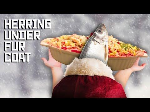 Herring under fur coat (селедка под шубой) - Cooking with Boris