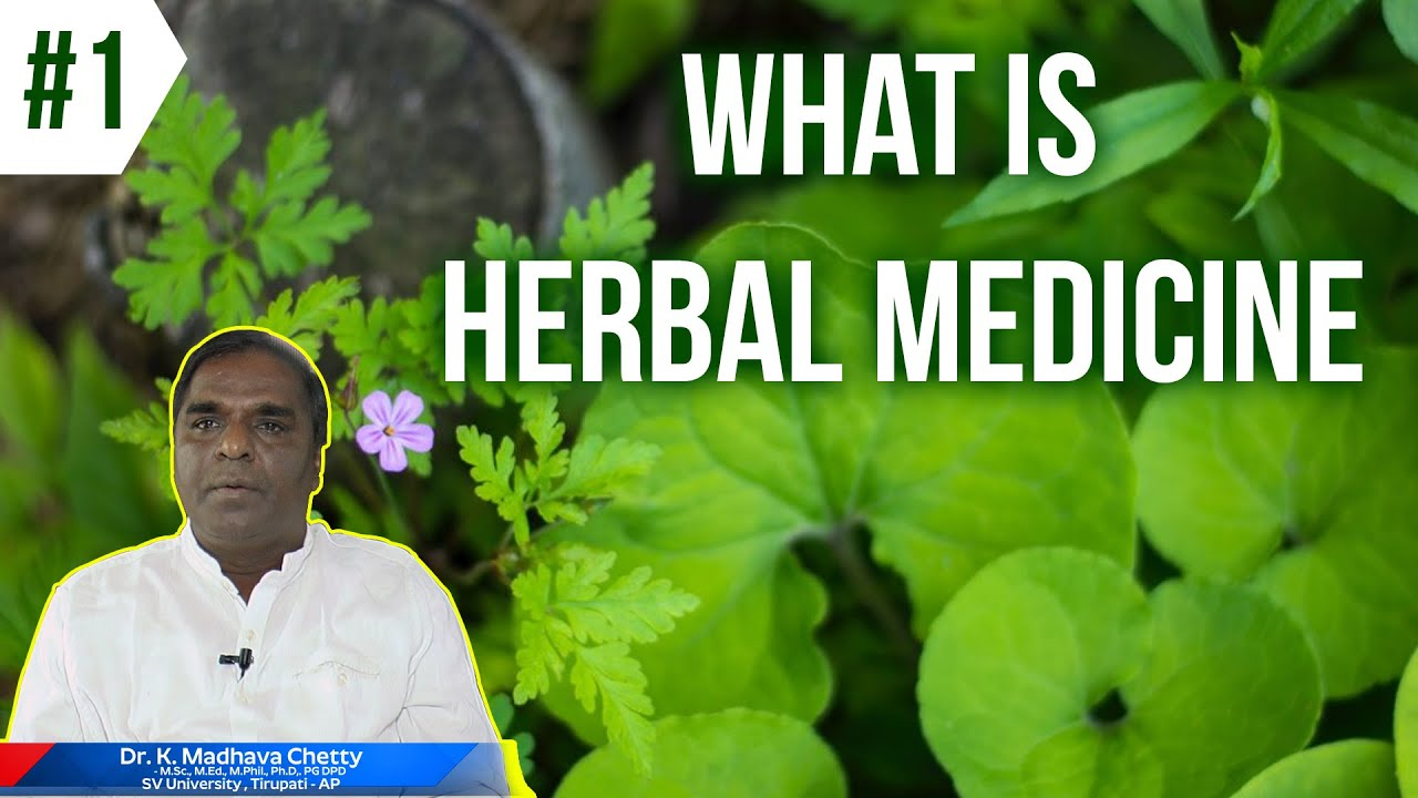 What Is Herbal Medicine|Prof Dr.K. MadhavaChetty | Most Powerful Plant In World To Cure All Diseases #Herbalmedicine