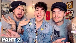 BEST FRIEND CHALLENGE w/ KIAN & JC!! (SHOCKING RESULTS)