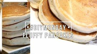 THE SECRET TO FLUFFY PANCAKES: #DIYMonday   TheDIYLady
