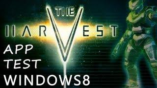 The Harvest - Windows 8 PC Game App Test / Review - Deutsch!