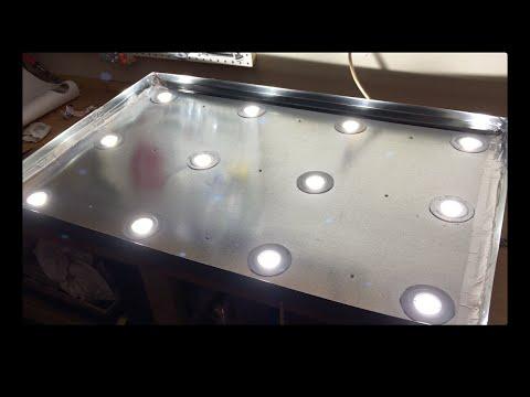 29 paneles de luz LED Grow para bricolaje que puede hacer en su casa 7