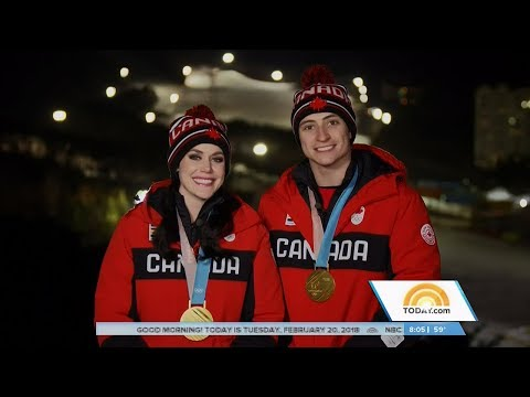 Tessa Virtue & Scott Moir Today Show Olympic Interview | LIVE 2-20-18