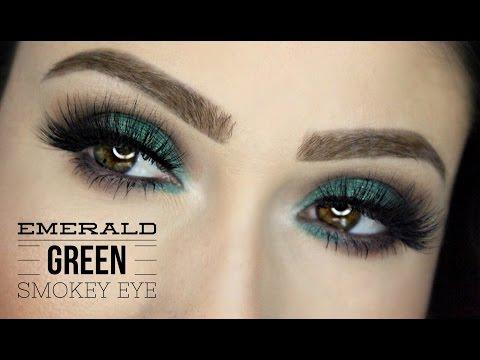 Emerald Green Smokey Eye | Get Ready With Me