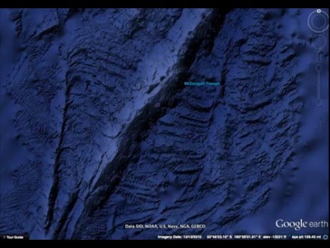 2015 Ocean in Google Earth Global Map Update- After