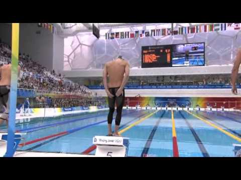 Most Phenomenal Michael Phelps Swim Ever!