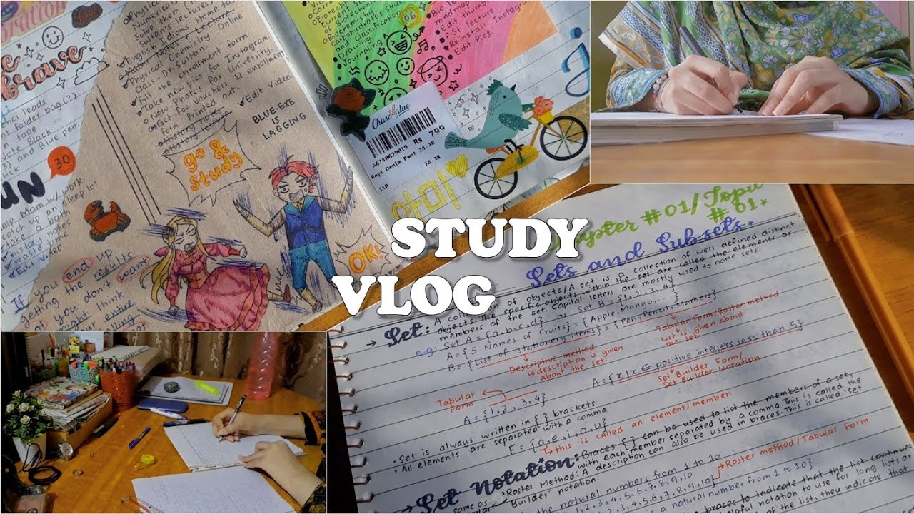 uni freshman study vlog 🇵🇰 // first week of classes // biotech major // spring 2021
