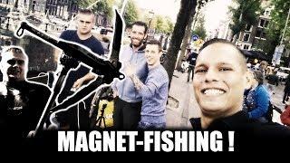 MAGNEETVISSEN - HARTJE AMSTERDAM - METAALDETECTOR NEDERLAND