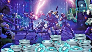 3 WAYS TO EARN A LOT OF V-BUCKS IN FORTNITE SAVE THE WORLD!!