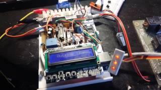 LCD + ардуино + серво + ds18b20, связь двух ардуино serial, управление котлом. arduino проекты