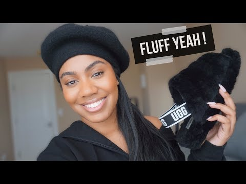 UGG FLUFF YEAH SLIDES REVIEW | Zoerudd