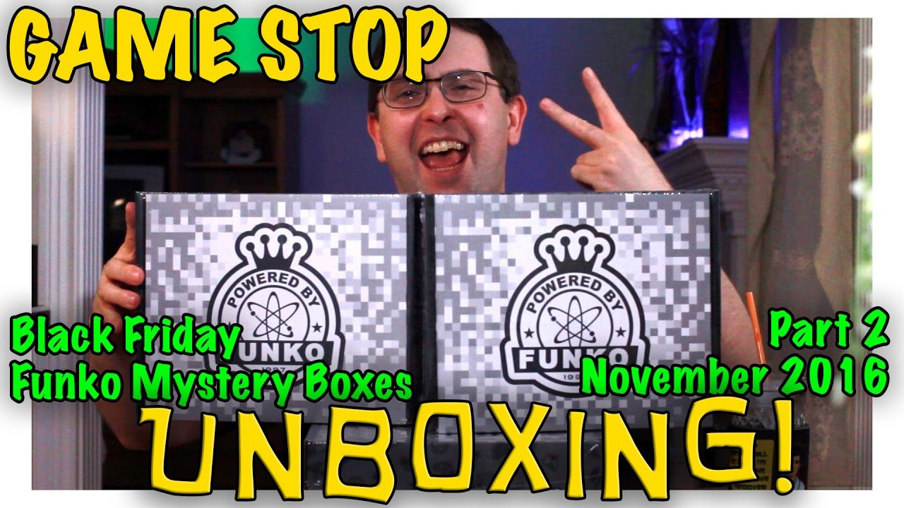 Unboxing Gamestop Black Friday Funko Mystery Boxes Part 2