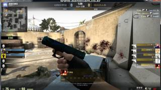 [Counter Strike - Global Offensive] CSGO noobs pistol round ace