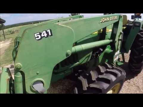Replacing the seals on a hydraulic cylinder; How to Disassemble a John Deere Lift Cylinder