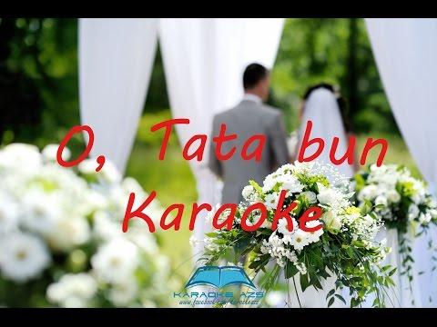 O, Tata bun - KARAOKE (De nunta)