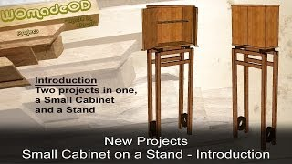 How To Make A Small Cabinet On A Stand - Intro To New Series