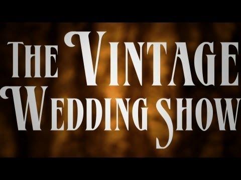 The Vintage Wedding Show Photoshoot 2013