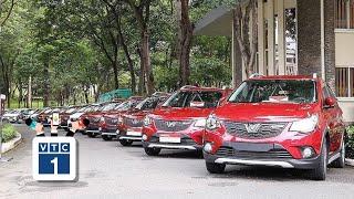 Vinfast cung cấp 1.500 xe Fadil làm taxi công nghệ