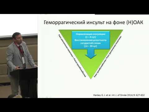 М.Ю. Гиляров, Оптимальная антикоагулянтная терапия при фибрилляции предсердий. Ключи к успеху