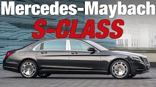2016 Mercedes-Maybach S-Class OFFICIAL Launch