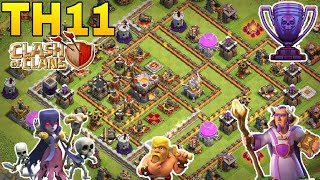 Th11 trophy base 2018/coc th11 trophy pushing base 2018/legend base/clash of clan