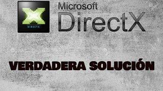 Error DXError.log y DirectX.log | LA SOLUCIÓN VERDADERA | 2017 | Gutty