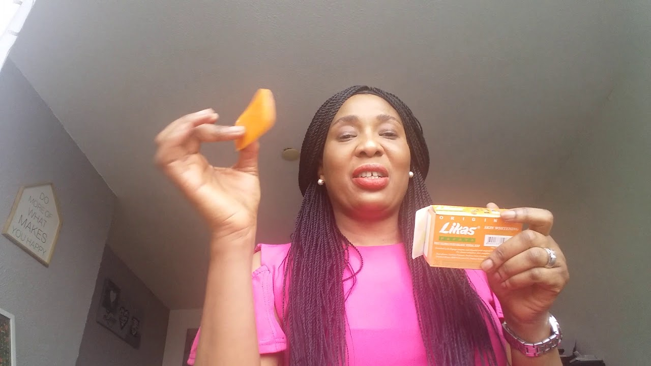 Lika papaya soap skin whitening review - YouTube