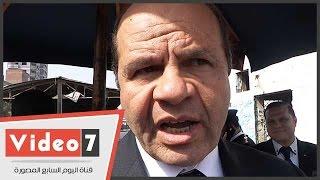 """بالفيديو..مدير أمن الجيزة يقود حملة لتطوير ميدان ناهيا : """" تأكيدا لشعار شرطة الشعب"""""""