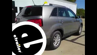 Installation of a Trailer Hitch on a 2015 Kia Sorento - etrailer.com