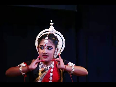 Popular Odissi Dance  - Mohana Pallavi - By Very Cute Odissi Dancer Soumyashree Panda, Cuttack