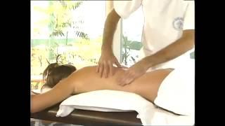 Общий массаж женского тела!