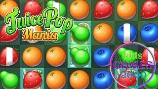 Juice Pop Mania: Free Tasty Match 3 Puzzle Games @kids games 2000 screenshot 1