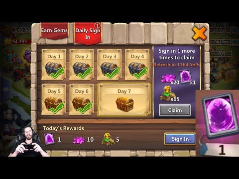 JT's Free 2 Play HUGE Day Devo 5th Hero Event Cards Castle Clash