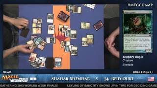 2013 Magic World Championship Final: Reid Duke vs. Shahar Shenhar (Modern)
