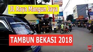 Jalan Raya Mangun jaya Tambun Stasiun Pasar Tambun Villa Bekasi Motovlog
