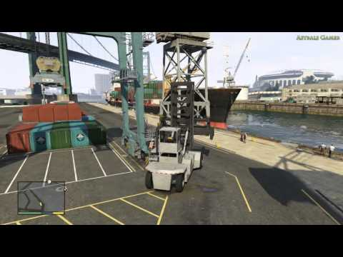 GTA V - Walkthrough #28 - Port de Los Santos : repérage - FR