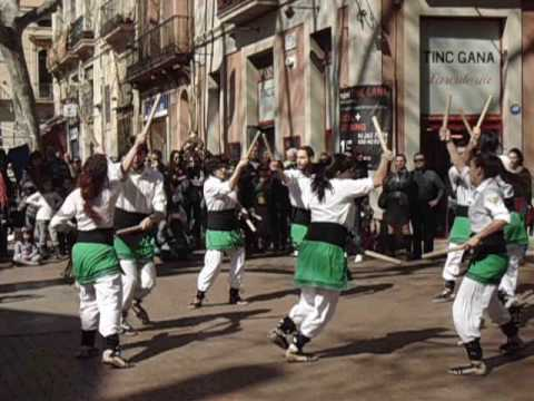 Catalan Stick Dance, Barcelona