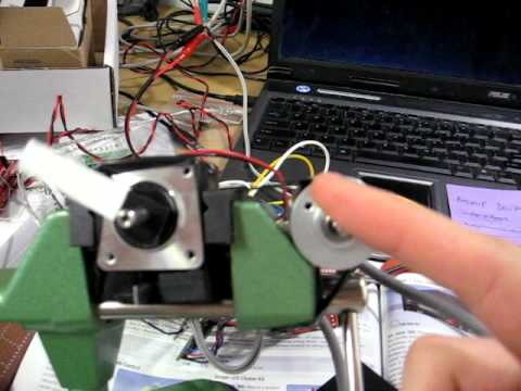 Arduino encoder to stepper motor youtube for Arduino encoder motor control