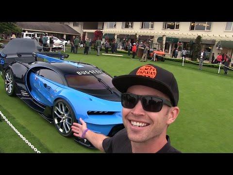 Behind the Scenes:  I FOUND the Bugatti Vision Gran Turismo