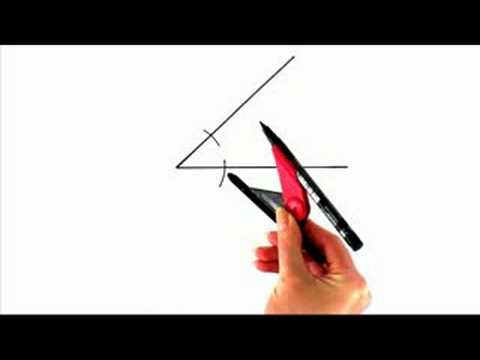 How-to Video Series: How to Draw an Angle Bisector