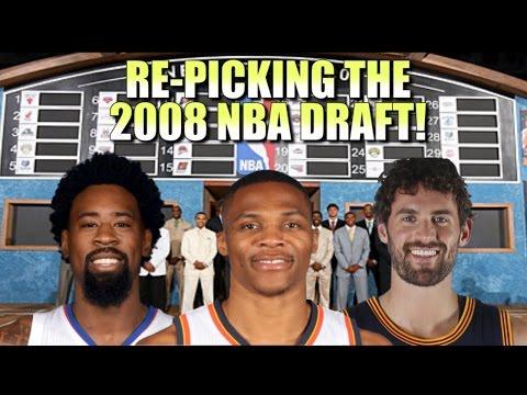 Re-Picking the 2008 NBA Draft!