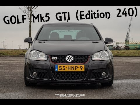 vw golf mk5 gti 240 edition exhaust and acceleration. Black Bedroom Furniture Sets. Home Design Ideas